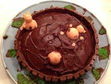 girls pig cake