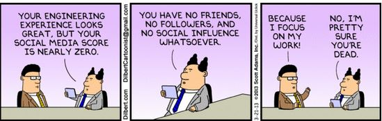 Dilbert social engineer